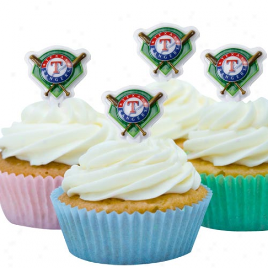 Texas Rangers Team Logo Party Pics