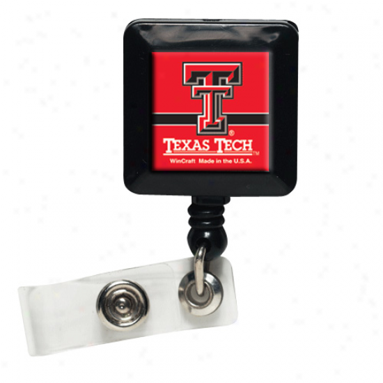 Texas Tech Red Raiders 30'' Badge Reel