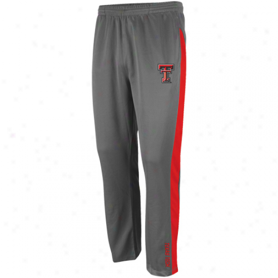 Tecas Tech Red Raiders Charcoal Rival Pants