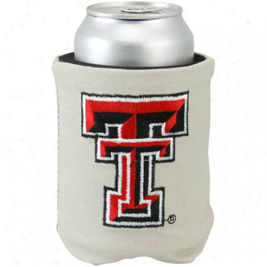 Texas Tech Red Raiders Khaki Canvas Can Coolie