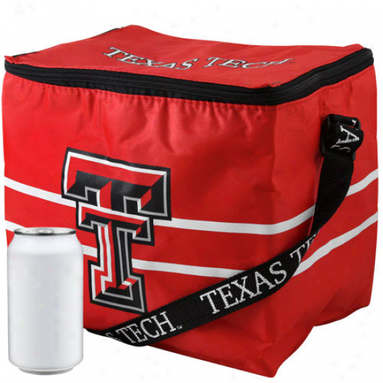 Texas Tech Red Raiders Scarlet Insulated 12-pack Cooler