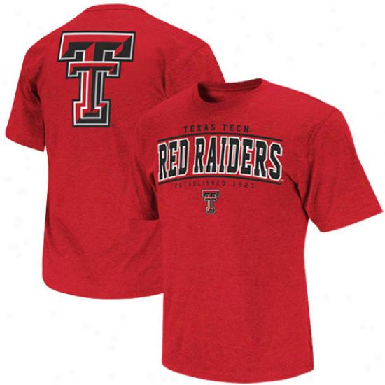 Texas Tech Red Raiders Stinger T-shirt - Scarlet