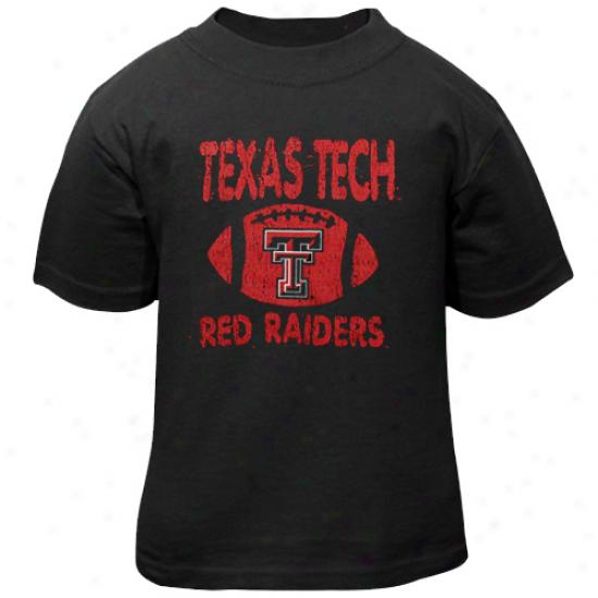 Texas Tech Red Raiders Toddler Recess T-shirt - Dismal