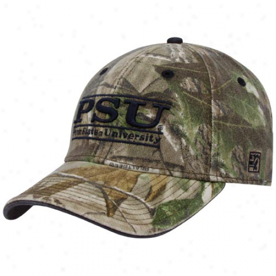 The Game Penn State Nittany Lions Camo 3-bar Stretch Fit Hat