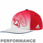 Adidas Atlanta Hawks Red-white 2011 Official Draft Day Flex Peformance Hat