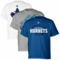 Adidas Starting a~ Orleans Horhets Creole Blue-ash-white Triple Threat T-shirt Combo Pack
