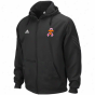 Adidas Tennessee Volunteers Bladk Breast Cancer Awareness Coaches Performance Saturated Zip Hoodie Sweatshirt