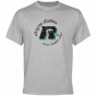 Arizona Rattlers Ash Circle Script T-shirt