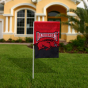Arkansas Razorbacks 12'' X 18'' Mini Applique Flag