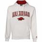 Arkansas Razorbacks Pale Automatic Hoody Sweatshirt