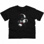 Boston Terries Youth Blackout T-shirt - Black