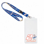 Brad Keslowski Credential Holder Lanyard