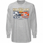 Brigham Young Cougars Vs. Utep Miners Ash 2010 Nes Mexixo Bowl Bound Dueling Long Sleeve T-shirt