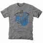 Buffalo Bulls Hoop Tri-blend T-shirt - Ash