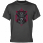 Cent. Michigan Chippewas Charcoal Shield Of Arms T-shirt