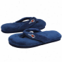 Charlotte Bobcats Ladies Navy Blue Plush Thong Flip Flop Slippers