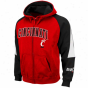Cincinnati Bearcats Red-black Playmaker Full Zip Hoodie Sweattshirt