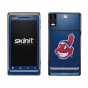 Cleveland Indians Navy Blue Droid 2 Distressed Skin