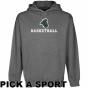 Coastal Carolina Chantcleers Gunmetal Custom Sport Logo Applique Midweight Pullover Hoody