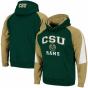 Colorado State Rams Green-gold Playmaker Pullover Hoodie Sweatshirt