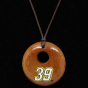 Dyna rPo Ryan Newman Ladies Round Woody Necklace