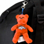 Denver Broncos Orange Plush Bear Keychain