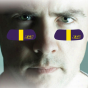 East Cadolina Pirates 2-pair Purple Team-colored Eye Black Strips