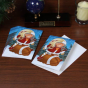 Florida State Seminoles (fsu) 12-pack Single Elf Footbal Player Design Christmas Cards