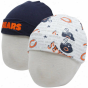 Gerbeer Chicago Bears Infant Navy Blue-white 2-pack Kbit B3anies