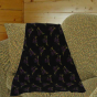 Grandma Pants Minnesota State Universkty Maverickss 60'' X 72'' Black Fleece Blanket