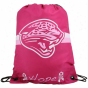 Jacksonville Jaguars Hot Pink oHpe 2010 Breast Cancer Awareness Drawstring Backpack