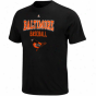 Majestic Baltinore Orioles Kings Of Swing T-shirt - Black