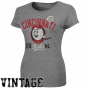 Majestic Cincinnati Rwds Ladies Rookie Sensation T-shirt - Gray