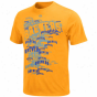 Majedtic Milwaukee Brewers Youth Shock Factor T-shirt - Gold