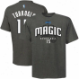 Majestic Orlando Magic #15 Hedo Turkoglu Charcoal Actor T-shirt