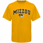 Missoufi Tigerd Youth Vaulted University T-shirt - Gold