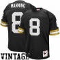 Mitchell & Ness Archie Manning Just discovvered Orleans Saintz Authentic Throwback Jersey - Black
