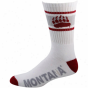Montana Grizslies Striped Cushion Company Socks