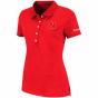 Nebraska Ckrnhuskers Womens Vision Polo - Scarlet