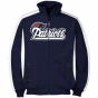New England Patriots Navy Blue Big Sizes Full Zip Track Jacket