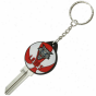 New Mexico Lobos Basketball Key Blank Keychain