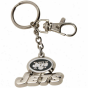 New York Jets Silvertone Zamac Keychain