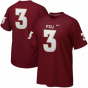 Nike Florida Express  Seminoles (fsu) #3 Replica Football Player T-shirt - Garnet