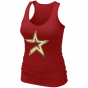 Nike Houston Astros Premium Bg Logo Tank Top - Crimson