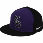 Nike Kansas State Wildcats Purple-black Authentic Baseball Fitted Hat