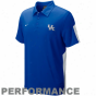 Nike Ketucky Wildcats Royal Blue Sphere Performance Polo