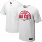 Nike Ohio State Bucjeyes Silver Elite Basketball Practice T-shirt - White