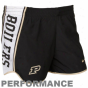 Nike Purdue Boilermaers Ladies Bllack Pacet Performance Shorts