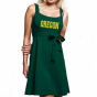 Oregon Ducks Ladies Green Campus Best Belred Sundress
