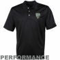 Oregon Ducks Pac-12 Black Conference Pique Pefformance Polo